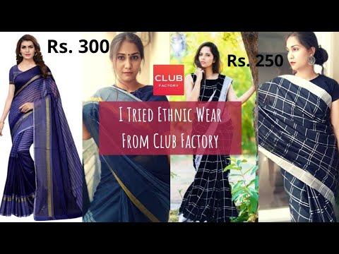 3afde6b769 Club Factory Kurta, Sarees, Tops & Dresses | Club Factory Clothing ...