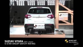 ANCAP CRASH TEST: Suzuki Vitara (2015 - onwards) pole test at 29km/h
