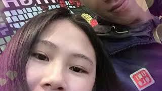 Đình Trọng và bạn gái Trang heo