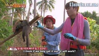 [ENGSUB] 박형식 / Park Hyungsik - Law Of The Jungle Ep 160 #1