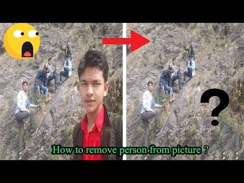 How To Remove ANYTHING From a Photo In Photoshop?[photoshop tutorial]. thumbnail