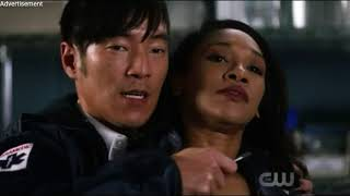 The Flash 4x16/Matthew(Melting Pot) puts Barry's powers into Iris/Iris trains as a sdster