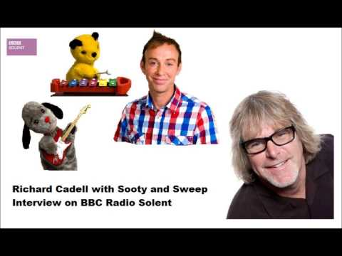 Richard Cadell with Sooty and Sweep Interview on BBC Radio Solent