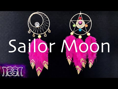 Sailor Moon - Dreamcatchers - DIY