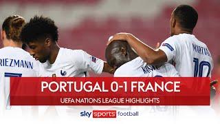 Kante scores winner for Les Bleus | Portugal 0-1 France | Nations League Highlights