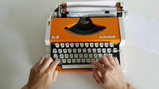 Tony's Typewriters - Unis TBM de Luxe