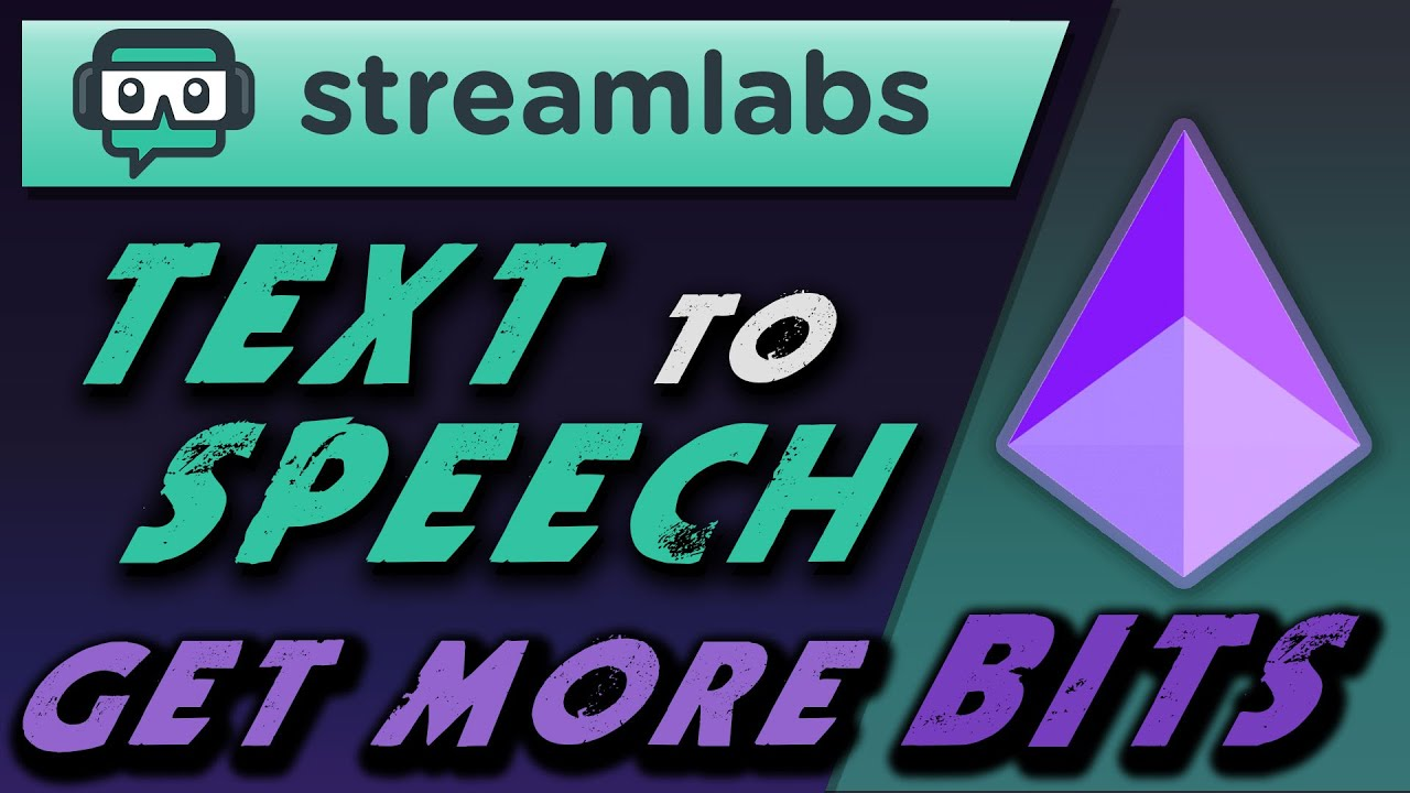 How to setup text to speech on Twitch with Streamlabs OBS and earn bits