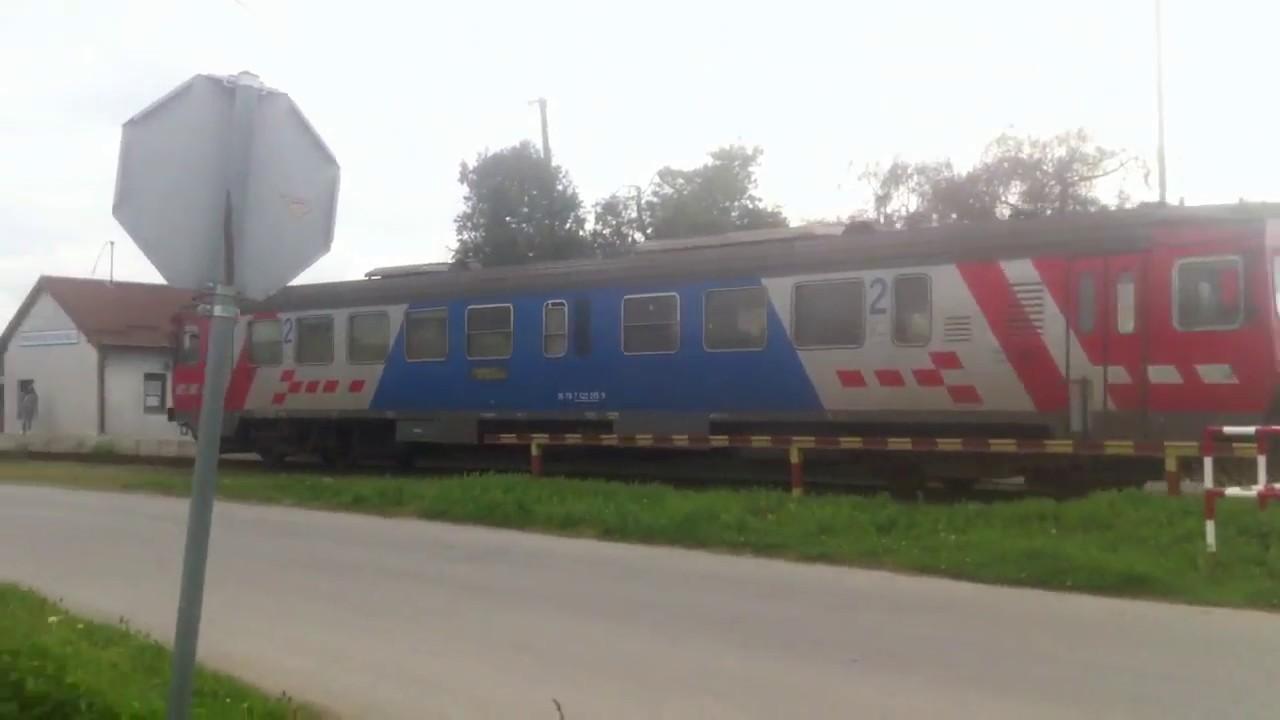 Hž Trains On Railway Line Vinkovci županja April 2017 Youtube