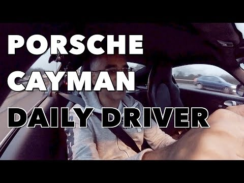 Manual Porsche Cayman Daily Driver | YES YOU CAN!