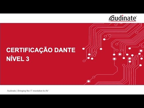 Dante Certification Level 3 - PORTUGUESE - 09  Tráfego Broadcast