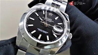 видео швейцарские часы