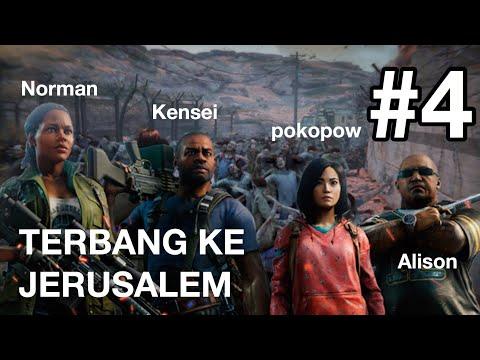 ZOMBIE BEREKELIARAN DI YERUSALEM - WORLD WAR Z MULTIPLAYER INDONESIA #4