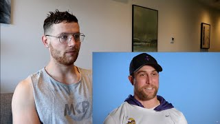 Rugby Player Reacts to ADAM THIELEN (WR, Vikings) #33 The NFL's Top 100 Players of 2019!