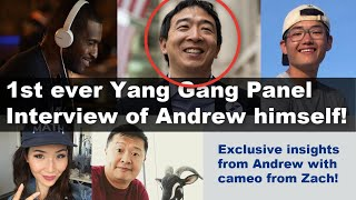 @Andrew Yang for President 2020 interviewed by Paget, Tom, Kai, & Aaron including cameo from Zach!