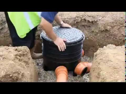 How To Install Underground Drainage With Floplast