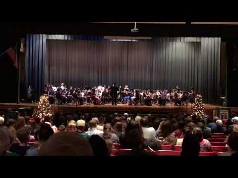Ridley Middle School Band- Reindeer Galop 12/5/17