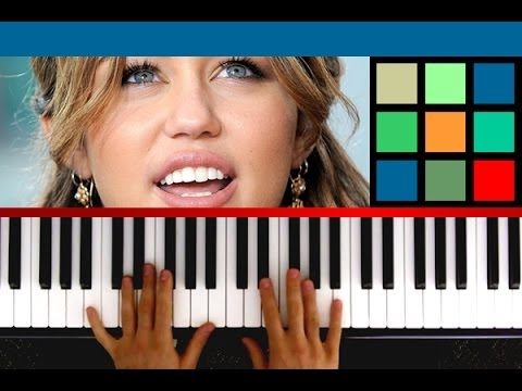 """How To Play """"Wrecking Ball"""" Piano Tutorial"""
