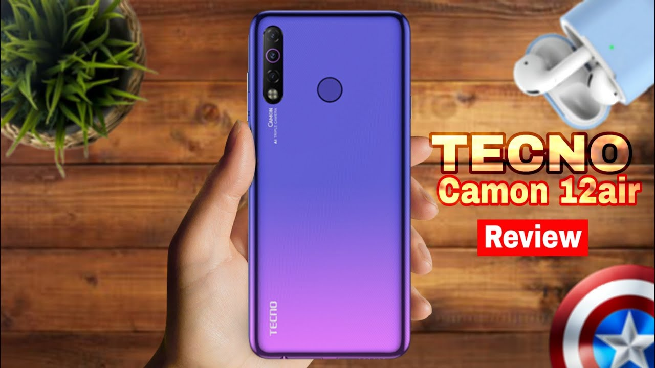 Download TECNO CAMON 12 Air Review, Unboxing, Specs, Cam, Style King|MrSmartPhone