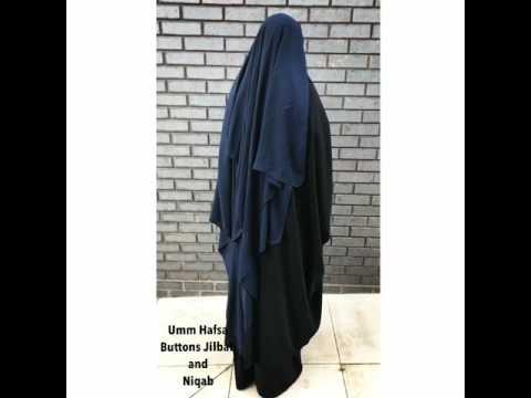 Extra Long Niqab and Buttons Jilbab !