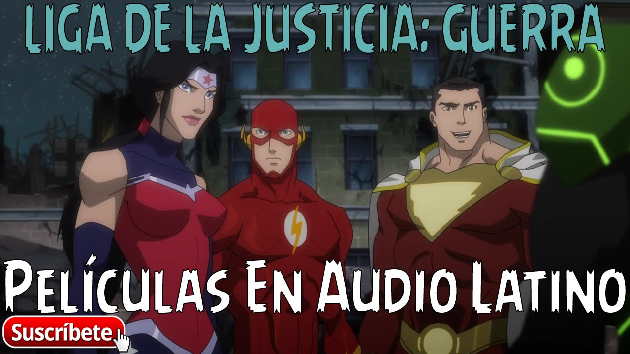 Download LIGA DE LA JUSTICIA: GUERRA / Justice League: War - [2014] [Audio Latino] [WEB-DL] [2 Link]