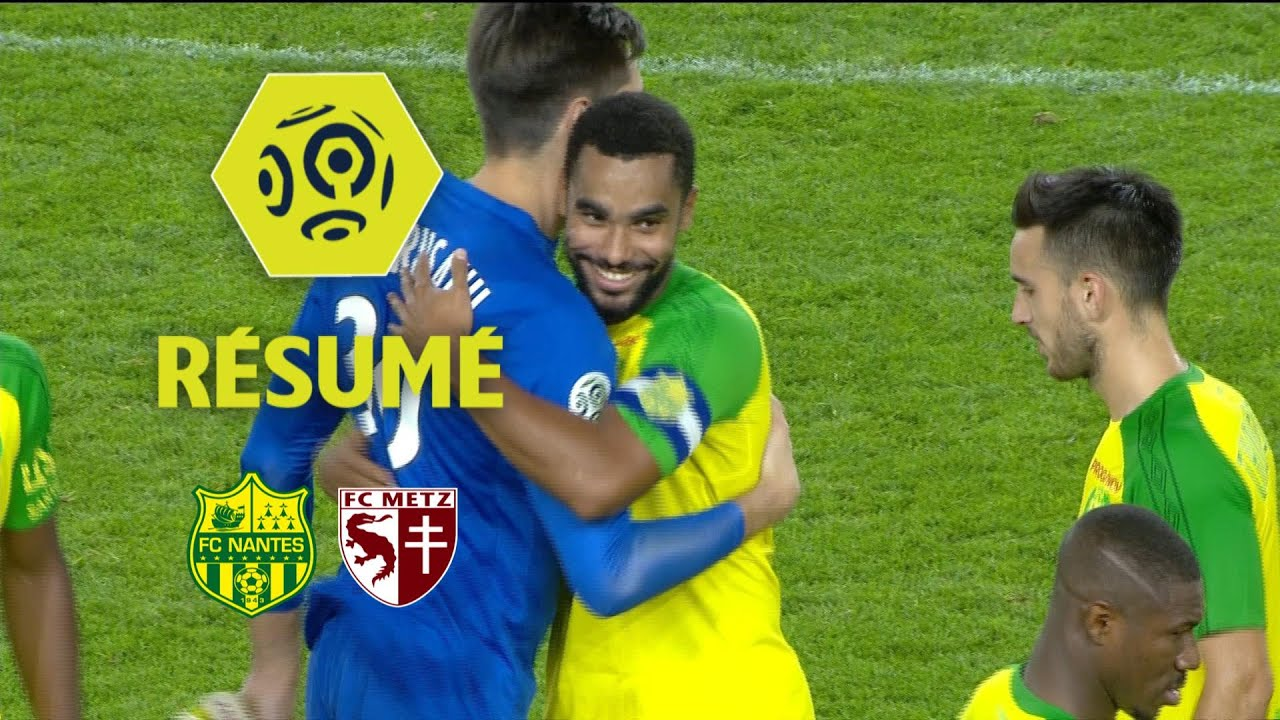 FC Nantes - FC Metz (1-0) - Résumé - (FCN - FCM)   2017-18 - YouTube 88dc7ef6ab9