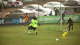 GPL MATCH DAY 10 HIGHLIGHTS: DREAMS FC 4 - LIBERTY PROFESSIONALS 1