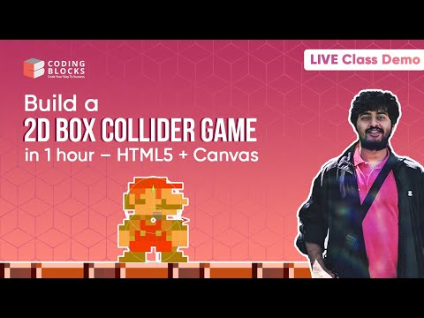 Web Development In JavaScript | Getting Started With Canvas And JavaScript | Live Class Demo