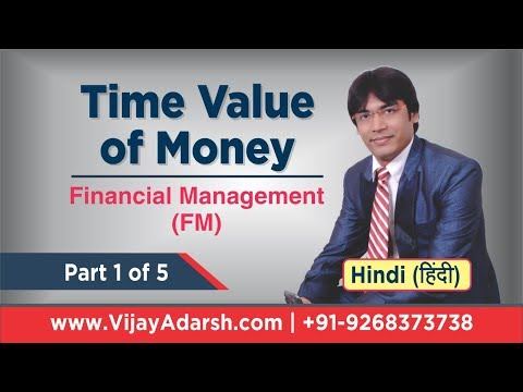 Time Value of Money - Part 1 of 5 | Financial Management (FM) | B.Com | StayLearning | (HINDI)