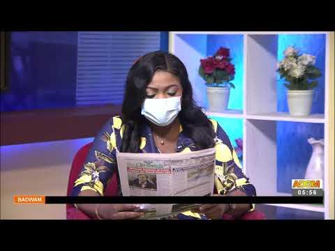 Badwam Newspaper Review on Adom TV (16-9-21)