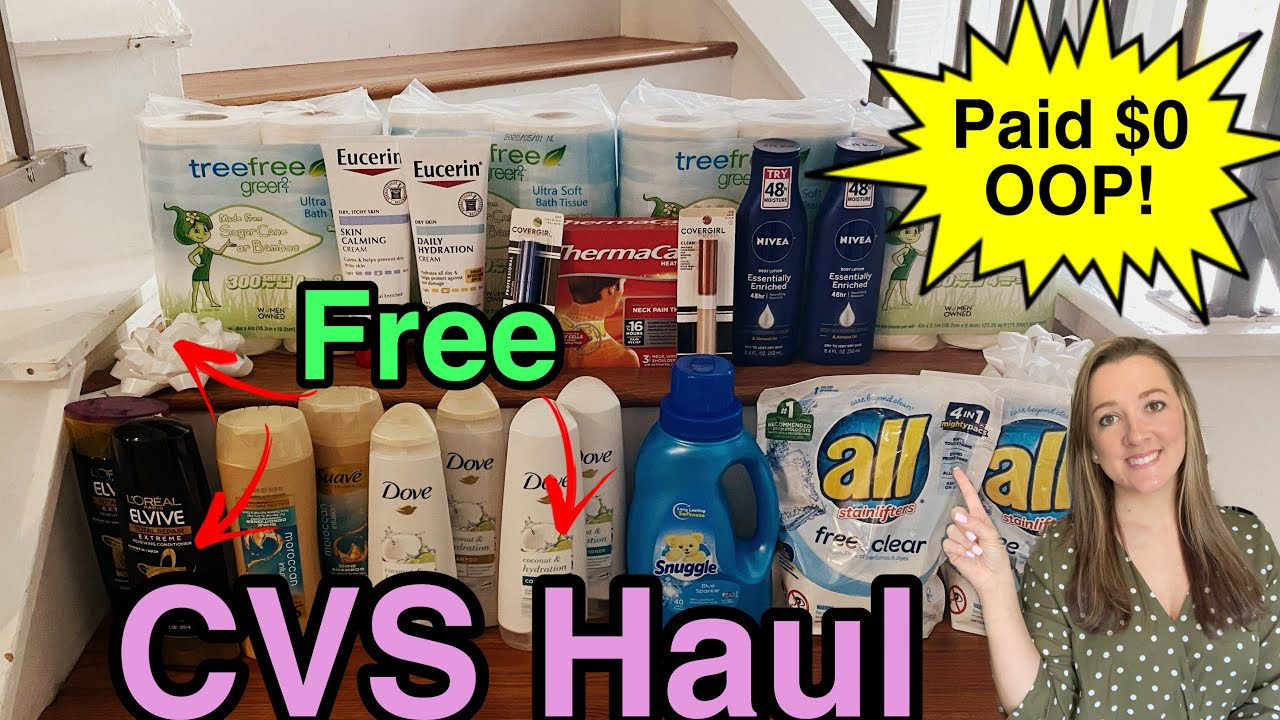CVS Haul - 4/18-24/2021 FREE Hair Care!