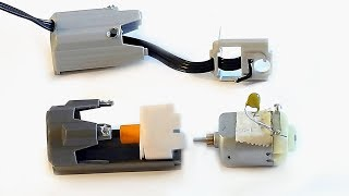 Comment réparer un moteur M LEGO - How to fix LEGO M motor / connector - TUTORIEL de réparation