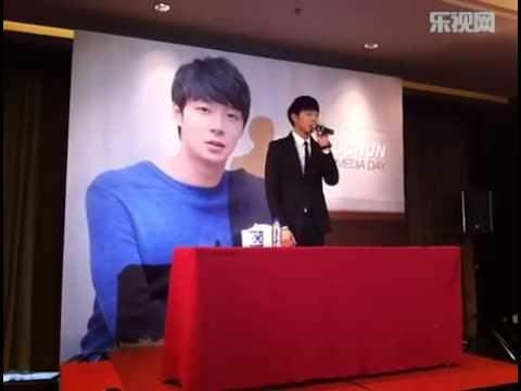 [LETV] 130111 Yuchun Beijing Media Day - Self introduction.flv
