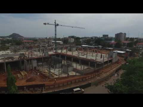 Progress of Novare Central, Abuja Nigeria – April 2017