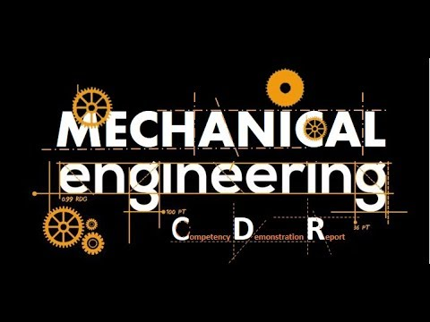 Mechanical Engineer Sample CDR For Engineers Australia For Immigration To Australia 2020 Part 1/2