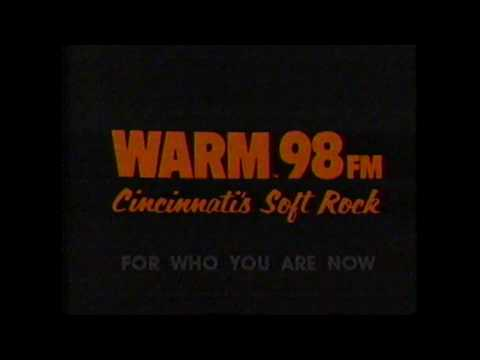1986 Cincinnati Warm 98 Radio Commercial