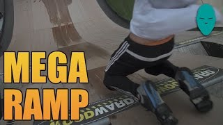 The Human Mega Ramp | Damien Walters