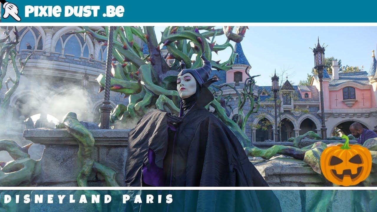 Saison Halloween Disneyland Paris 2019.Maleficent Meet And Greet In Disneyland Paris For Halloween Season 2018