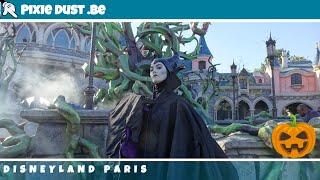 🎃Maleficent meet and greet in Disneyland Paris for Halloween Season 2018