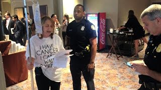 Breast Cancer Patient Arrested for Protesting TPP: