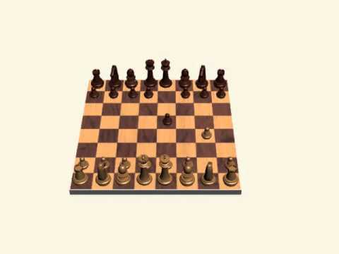 3Ds Max Chess Set- Fastest Checkmate 4 Views