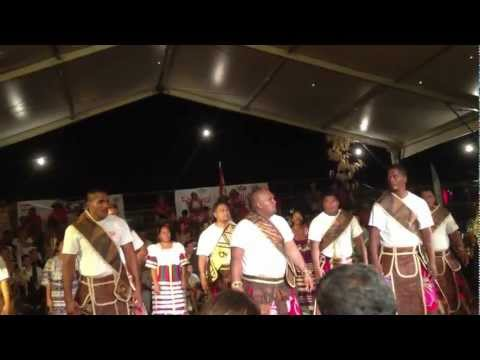 Wallis & Futuna dance group at the 3rd Intl Festival of Papeete, 2012