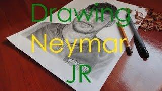 Drawing Neymar JR
