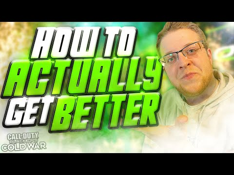 How the PROS (And I) ACTUALLY get better at CoD! | Tips & Tricks for YOU to Improve at CoD Cold War