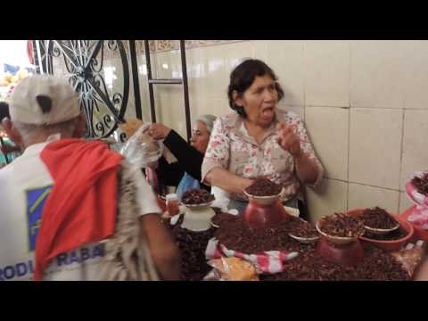 Vista del mercado Benito Juárez de Oaxaca