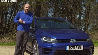 Volkswagen Golf R Estate 2016 review | TELEGRAPH CARS