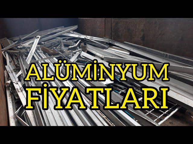 Hurda Alüminyum Fiyatları   HurdaPiyasasi.com'da
