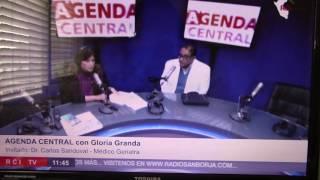 Dr. Carlos Sandoval - entrevista en Radio San Borja