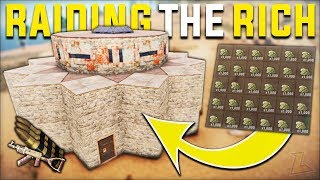 RAIDING THE RICHEST BASE ON THE SERVER GAVE JACKPOT SULFUR PROFIT - Rust Duo Vanilla Survival|S16-E5