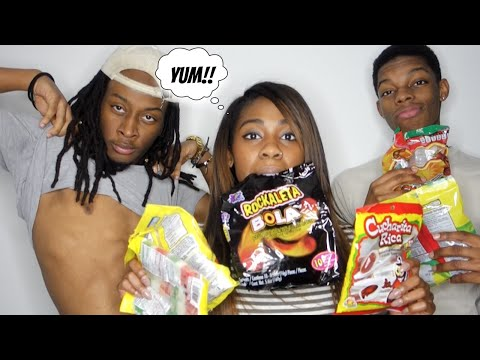 BLACK PEOPLE TRY MEXICAN CANDY | AlliCattt