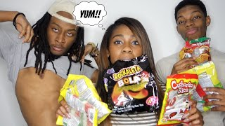 BLACK PEOPLE TRY MEXICAN CANDY   AlliCattt